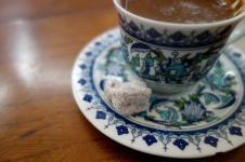 Turkish Coffee with Turkish Delight!