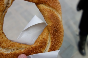 Simit - Sesame seed snack