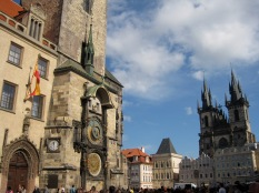 Astronomical Clock and Tyn Church