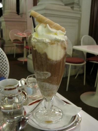 Eiskaffee at Julius Meinl