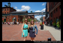 Distillery District in Toronto! Sistes Trip 2013