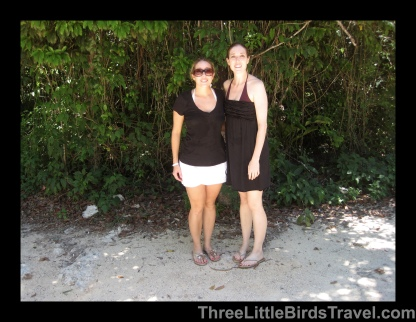 Just finished snorkeling in a cenote in Mexico! Sisters Trip 2010