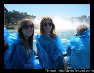 Niagara Falls! ...about to get soaked! Sisters Trip 2013