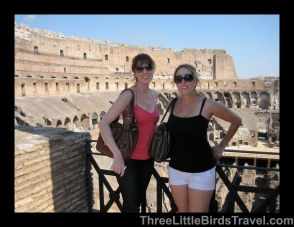 The Colosseum, Rome - Italy. Sisters Trip 2011