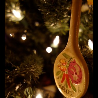 Wooden paprika spoon - Budapest, Hungary