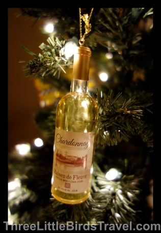 Wine bottle representing 'Chardonnay Cottege' wine trip - Paso Robles, CA