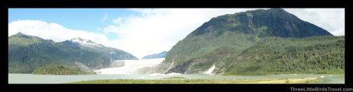 Bike ride to Mendenhall Glacier in Alaska