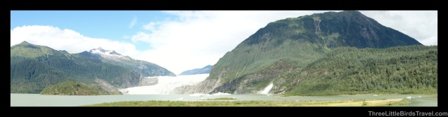 Bike ride to Mendenhall Glacier in Alaska
