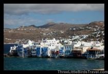 Visit 'Little Venice' in Mykonos, Greece