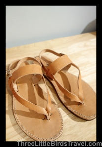 Sandals from Greece
