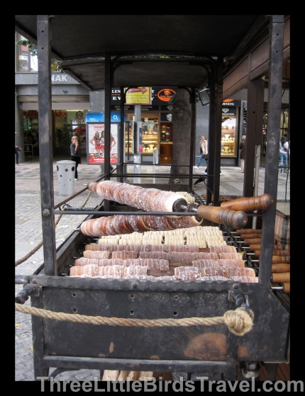 Trdelnik in the making!